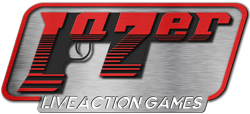 LaZer Live Action Gaming Logo