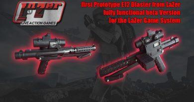 LaZer E12 Blaster Prototype Preview