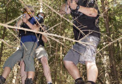Laser Spiel Wald in Liebenfels