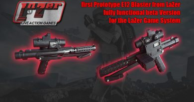 LaZer E12 Blaster Prototype Preview