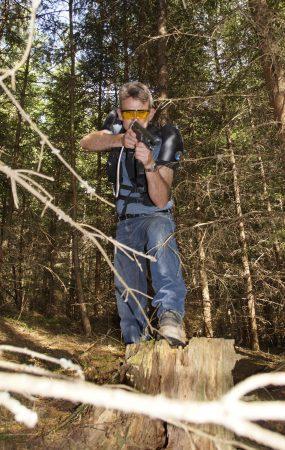 LaserFun Angriff vom Highground outdoor Spiel