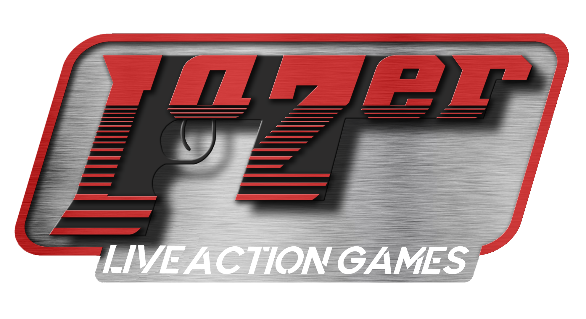 Lazer Live Action Game Logo HD