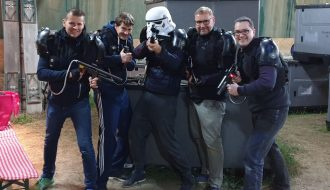 Teambuilding mit LaserTag in Liebenfels