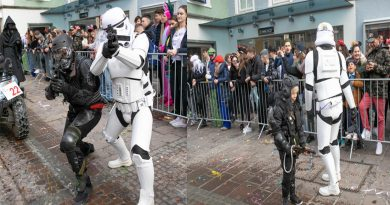 Lazer Live Action am Fasching in St. Veith