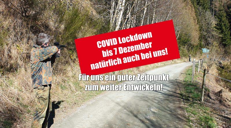 LaZer Covid Lockdown bis 7 Dezember