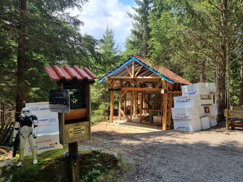 LaZer Hütte am LaserTag Gelände Liebenfels