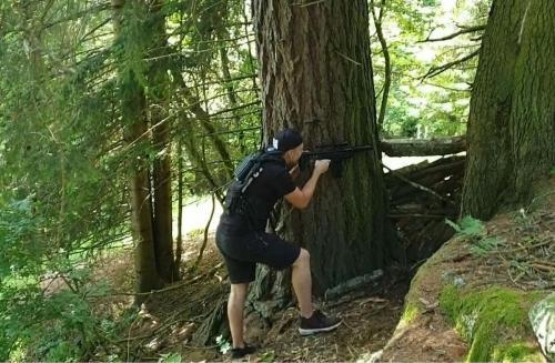 Großer Wald 2 Bäume