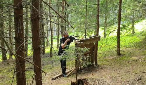 Sniper stehend